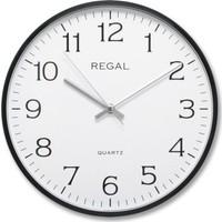 Regal 0250 Bw İnce Çerçeve Slim Duvar Saati