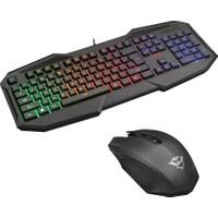 Trust 22507 Gxt 830-Rw Avonn Gaming Oyuncu Klavye + Trust 22417 Gxt 115 Macci Oyuncu Mouse Set