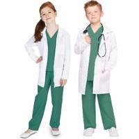Hkostüm Cerrah Doktor Meslek Kostümü Steteskoplu 5 - 6 Yaş