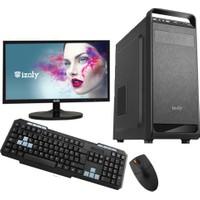 "İzoly M187 Intel Core i3 330 8GB 320GB 18.5"" Freedos Masaüstü Bilgisayar"