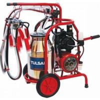 Tulsan Aleminyum Güğümlü Çift Sağım Süt Sağma Makinası