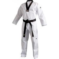 Adidas Adi-Club Taekwondo Elbisesi Siyah Yaka