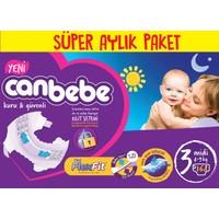 Canbebe Bebek Bezi Online Özel Paket 3 Beden 168 Adet
