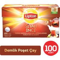 Lipton Siyah İnci Demlik Poşet Çay 100'lü