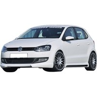 Volkswagen Polo 6R 2010 - 2017 Rieger Yan Marşpiyel Seti (Plastik)
