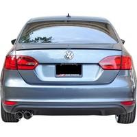 Volkswagen Jetta 2010 - 2014 GLI Arka Tampon Eki - Difüzör (Plastik)