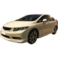 Honda Civic FB7 2012 - 2015 Modulo Black Edition Yan Marşpiyel Seti (Plastik)