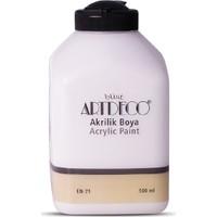 Artdeco Akrilik Ahşap Boyası 500 ml 3619 Beyaz