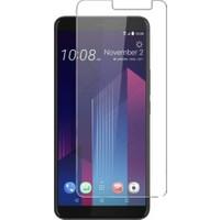 Microcase HTC U11 Plus Tempered Glass Cam Ekran Koruma