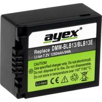 Ayex Panasonic G1- G2- G10 Gh1 İçin Dmw-Blb13- Dmw-Blb13E Batarya