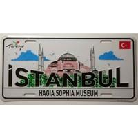 Dekoratif Plaka İstanbul Aya Sofya