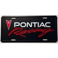 Dekoratif Plaka Pontiac Racing