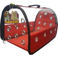 Tarçınpet Kedi Köpek Taşıma Çantası LÜX Şeffaf Flybag