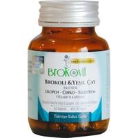 Brokovit Brokoli Yeşil Çay Ekstresi Likopen Çinko Selenyum Vitamin B