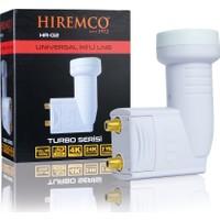 Hiremco 3D-Full HD Çift Çıkışlı Üniversal LNB