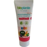 Bioplante Organik Diş Macunu Tutti Frutti Çocuklar İçin (Yutulabilir) 75 ml