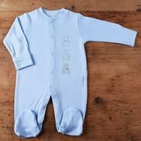 Kiti Kate S76230 Organik Önden Çıtçıtlı Bebek Tulum