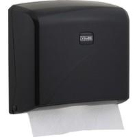 Vi̇alli̇ Z Katlı Kağıt Havlu Dispenseri Max 22 Cm 200 Ad Siyah K2B