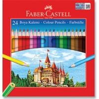 Faber-Castell Karton Kutu Boya Kalemi 24 Renk