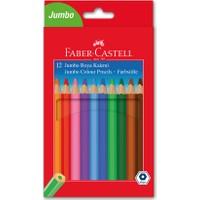 Faber-Castell Jumbo Boya Kalemi, 12 Renk