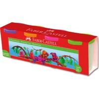 Faber-Castell Oyun Hamuru 4lü Floresan Renkler 2019