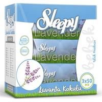Sleepy Islak Havlu Lavanta Kokulu 3x50'li