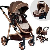 Baby Home Bh 955 Gold Vip Travel Sistem Bebek Arabası