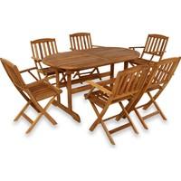 Hepsiburada Home Newburry Oval Masa+ 6 Kolçaklı Sandalye