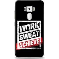Eiroo Asus Zenfone 3 ZE552KL Work Sweat Desen Kılıf