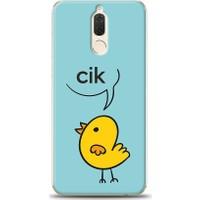 Eiroo Huawei Mate 10 Lite Kuş Desen Kılıf