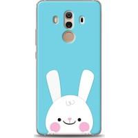 Eiroo Huawei Mate 10 Pro Tavşanlı Desen Kılıf