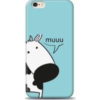 Eiroo iPhone 6 Plus/6S Plus İnekli Desen Kılıf