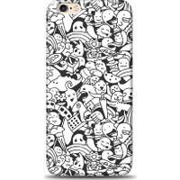 Eiroo iPhone 6 Plus/6S Plus Karikalar Desen Kılıf