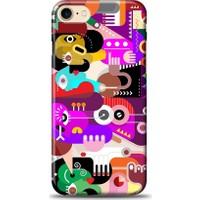 Eiroo iPhone 7 Modern Art Desen Kılıf