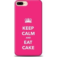 Eiroo iPhone 7 Plus Keep And Calm Desen Kılıf
