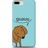 Eiroo iPhone 7 Plus Köpekli Desen Kılıf