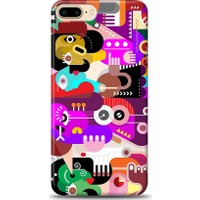 Eiroo iPhone 7 Plus Modern Art Desen Kılıf