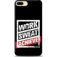 Eiroo iPhone 8 Plus Work Sweat Desen Kılıf