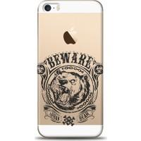 Eiroo iPhone SE/5/5S Beware Desen Kılıf