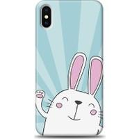 Eiroo iPhone X Bunny Star Desen Kılıf