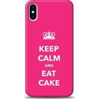 Eiroo iPhone X Keep And Calm Desen Kılıf