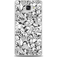 Eiroo Samsung Galaxy A7 2016 Karikalar Desen Kılıf