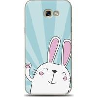 Eiroo Samsung Galaxy A7 2017 Bunny Star Desen Kılıf