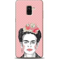 Eiroo Samsung Galaxy A8 Plus 2018 Frida Desen Kılıf
