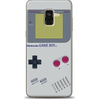 Eiroo Samsung Galaxy A8 Plus 2018 Game Boy Desen Kılıf