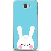 Eiroo Samsung Galaxy J7 Prime Tavşanlı Desen Kılıf