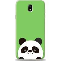 Eiroo Samsung Galaxy J7 Pro 2017 Panda Desen Kılıf