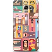 Eiroo Samsung Galaxy Note 5 Popartist Desen Kılıf