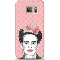 Eiroo Samsung Galaxy S7 Edge Frida Desen Kılıf
