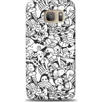 Eiroo Samsung Galaxy S7 Edge Karikalar Desen Kılıf